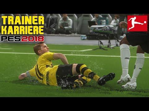 EXTREME WASSERSCHLACHT IN HANNOVER!💧 Bundesliga Trainer Karriere - Pro Evolution Soccer 2018