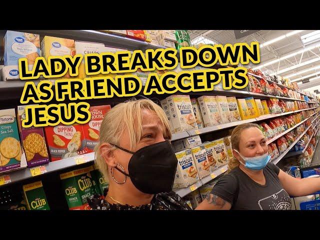 Jesus Answers A Friends Prayers!