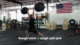 7/6/2014 Power Clean and Reflex Split Jerk, 265lbs