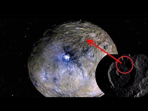 На планете Церера найдены строения, НАСА об этом молчит