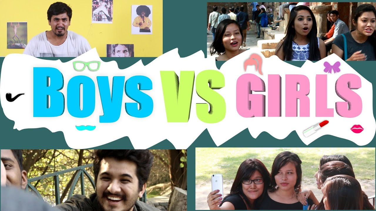 Boys vs Girls - This is Funny - YouTube