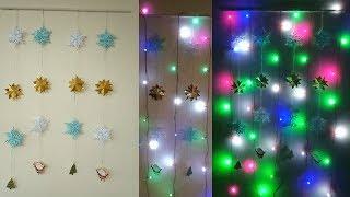 DIY Christmas Decor! Easy Paper Crafts Ideas for Christmas | Decoration Ideas for Christmas