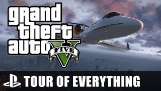 GTA V: A Tour Of Everything - Grand Theft Auto V's Map From End To End