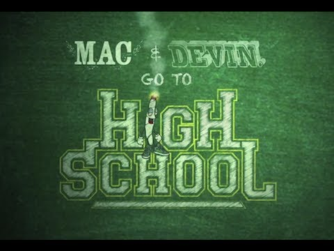 mac and dave go to high school me titra shqip