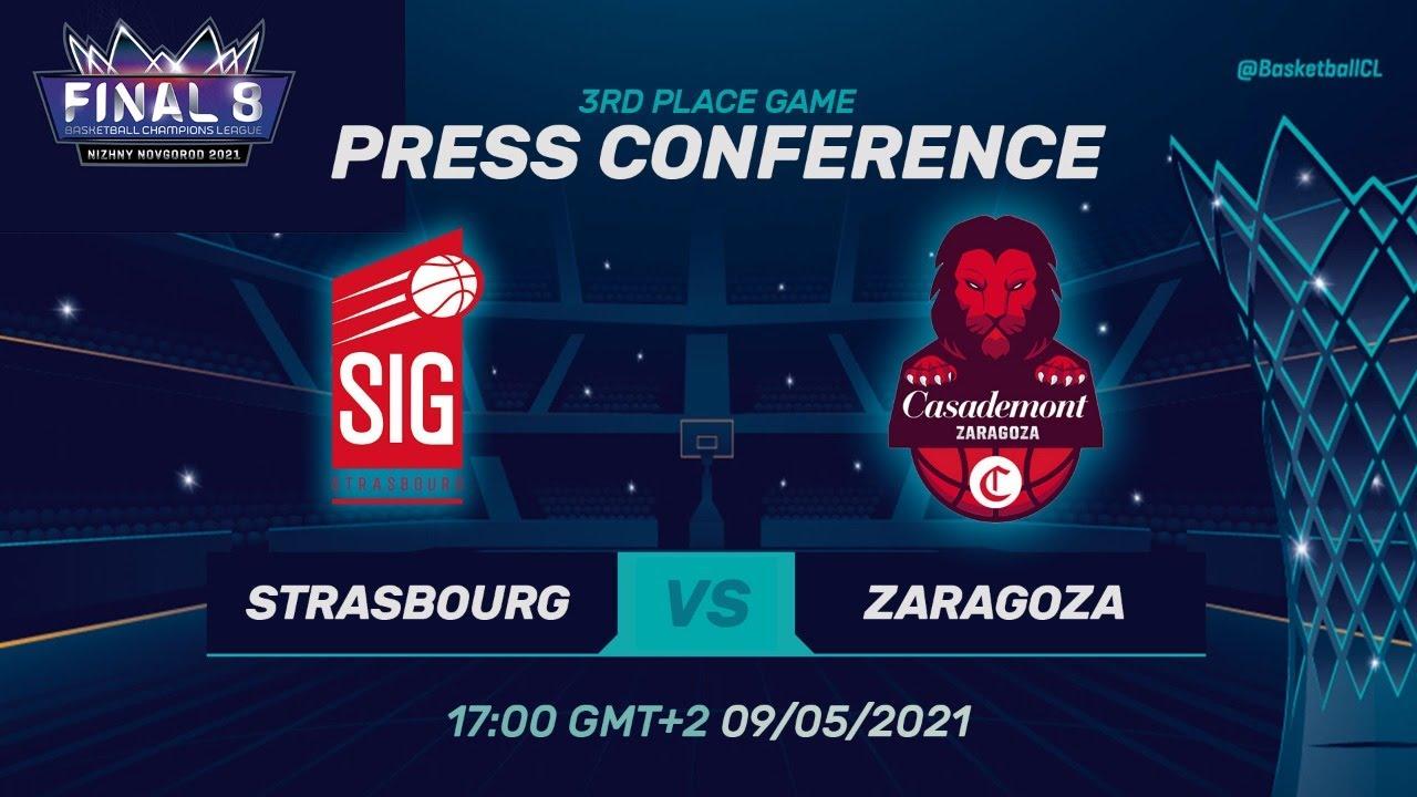 SIG Strasbourg v Casademont Zaragoza - Press Conf. | Basketball Champions League 2020/21