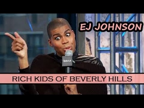 EJ JOHNSON Interview | Rich Kids of Beverly Hills Reality TV Show | February 12th, 2016