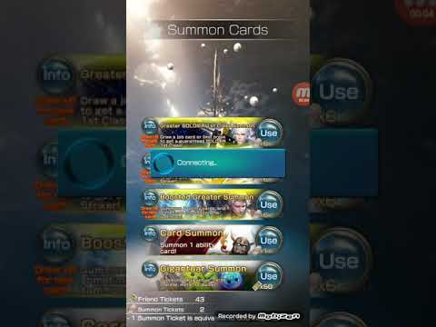 Mobius FF - Everything Greater Booster Summon