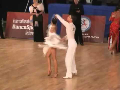IDSF World Junior-II Ten Dance, Latin, Moscow
