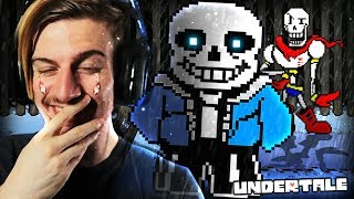 MEETING SANS & PAPYRUS IN UNDERTALE (The BEST thing..)