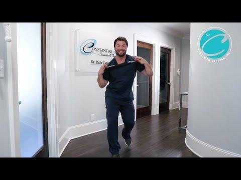 Dr. Rich Constantine dancing dentist goes viral again - Over 3 million views on Facebook - Grillz