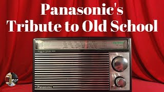 Class is In: The Panasonic RF-562D FM MW SW Radio Review