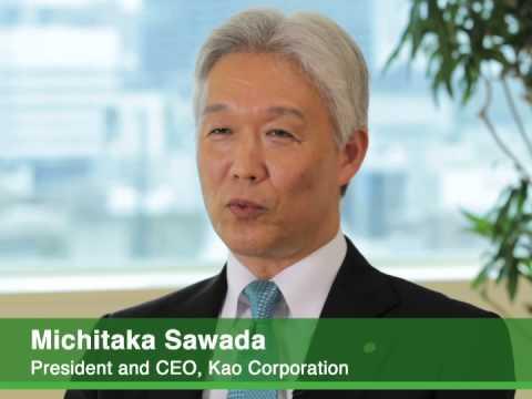 Michitaka Sawada, Kao Corporation President and CEO, shares a preview