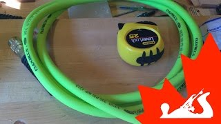 Flexzilla Air Hose Review And Custom Modification