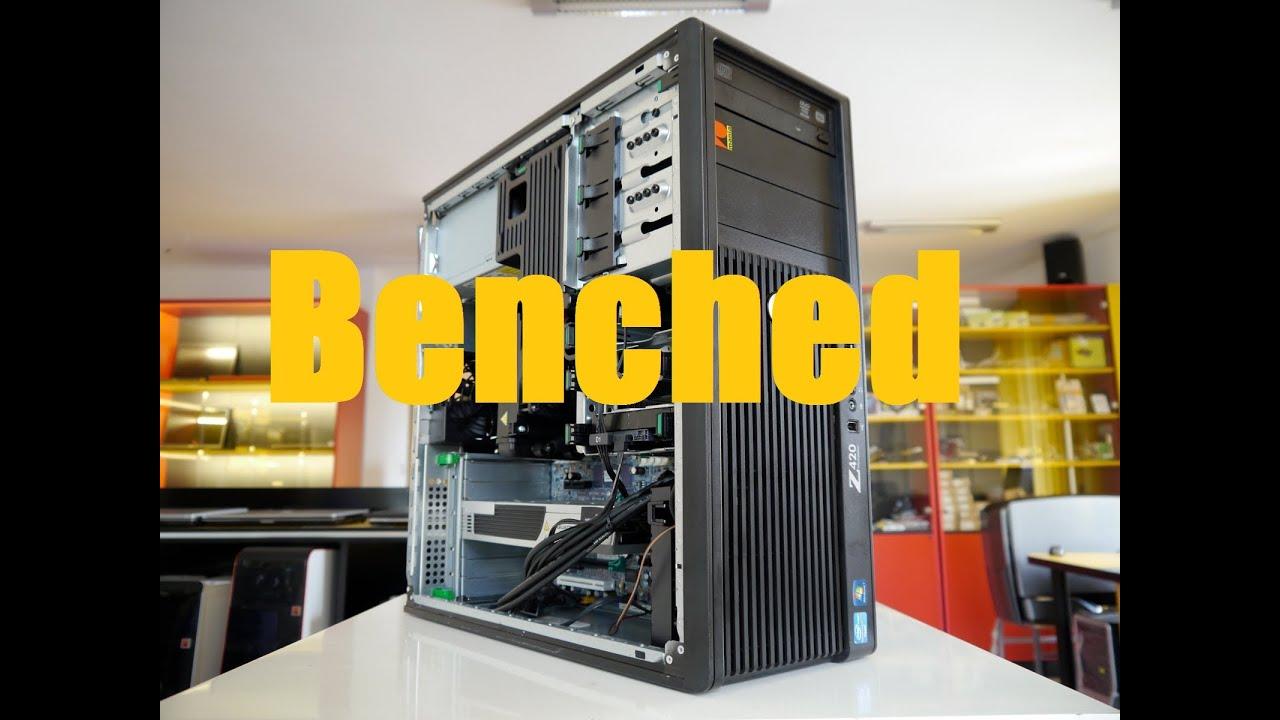 z420 (Xeon e5-1620) + hd7950 Synthetic Benchmarks