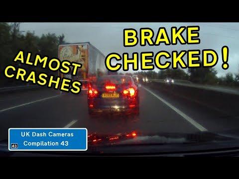 UK Dash Cameras - Compilation 43 - 2019 Bad Drivers, Crashes + Close Calls