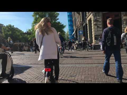 Bike Ride in Amsterdam