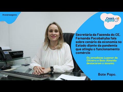 Segundo semestre terá, no Ceará, anúncio de pacote de investimentos, garante secretária Fernanda Pacobahyba