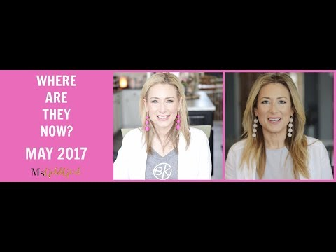 WHERE ARE THEY NOW? | Favorites From May 2017 | MsGoldgirl