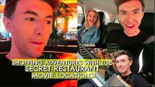 SHOPPING ADVENTURES W/ ZOE, SECRET RESTAURANT & MOVIE LOCATIONS!