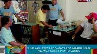 BP: 3 lalaki, arestado matapos mahulihan ng mga gamit pampasabog sa Nueva Vizcaya