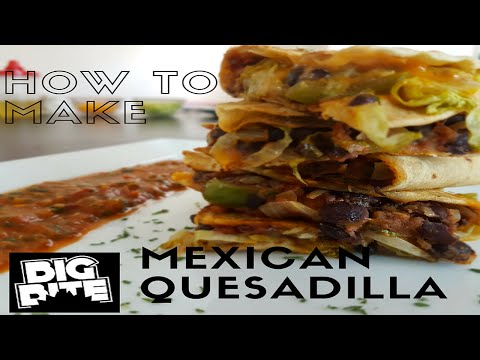 Mexican Quesadillas With Salsa Sauce Recipe