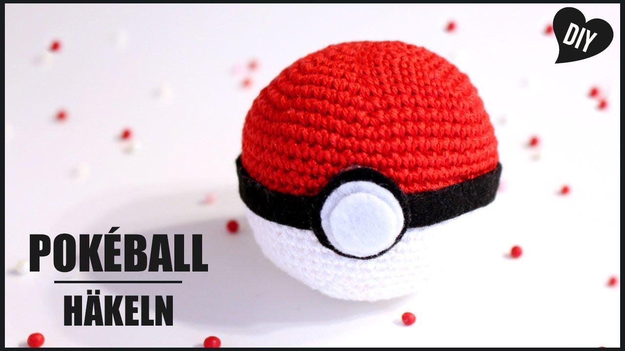 Pokeball Häkeln Pokemon Häkelanleitung Amigurumi Diy By