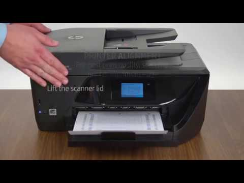 unboxing setting up and installing the hp officejet p doovi. Black Bedroom Furniture Sets. Home Design Ideas