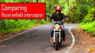AM I COMPARING NEW ROYAL ENFIELD INTERCEPTOR 650 Twin?