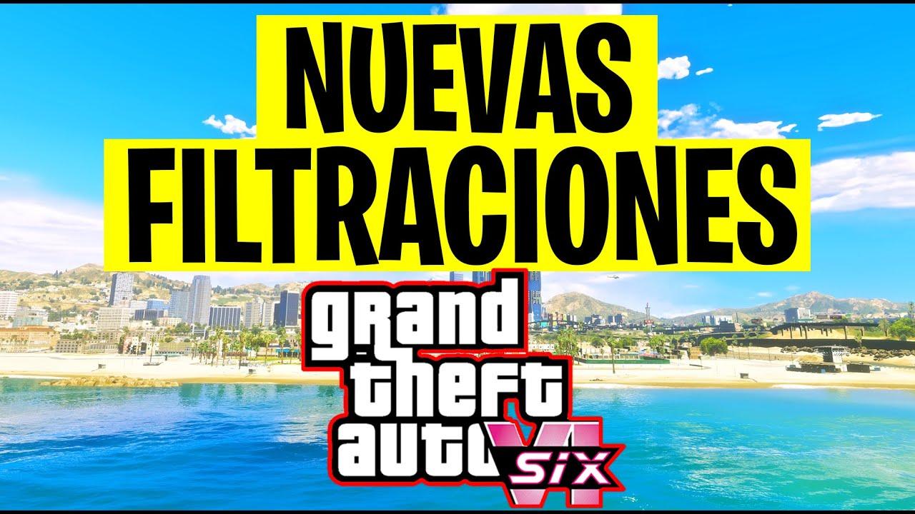GTA 6 NUEVAS FILTRACIONES y hablando de que paso con gta 5 en el evento de PS5