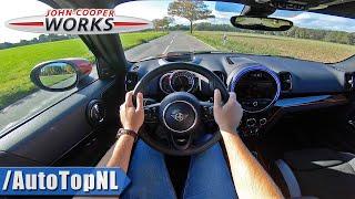 2020 MINI Countryman JCW 306hp POV Test Drive by AutoTopNL