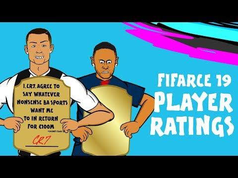 FIFA 19 Player Ratings Parody | Join The Mass Debate