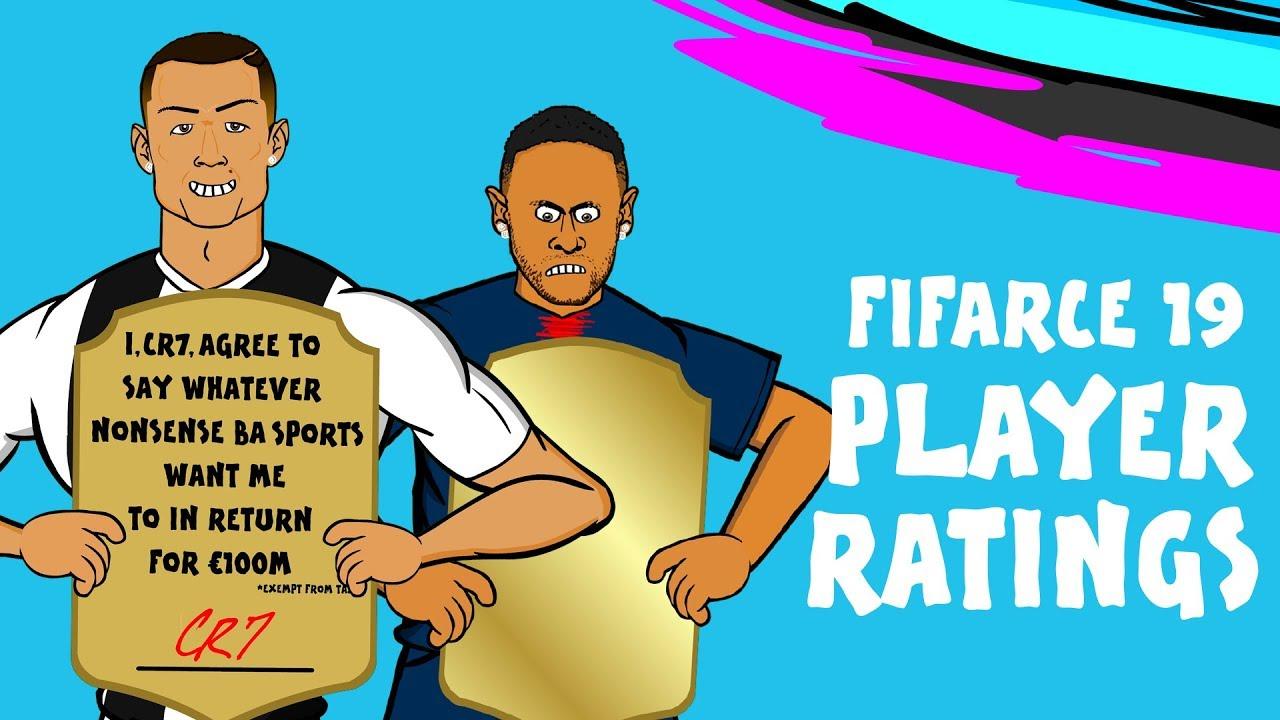 FIFA 19 Player Ratings Parody   Join The Mass Debate