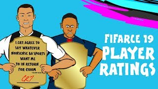 FIFA 19 Player Ratings Parody | Join The Mass Debate