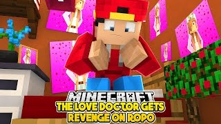 RAVEN DOES THE BEST PRANK ON ROPO OVER LITTLE KELLY w/Little Leo | Minecraft LOVE STORY  |