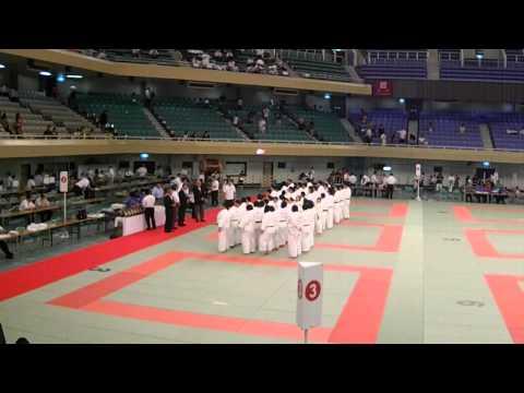 Remise des médailles du championnat Universitaire de Judo de la région de Tokyo