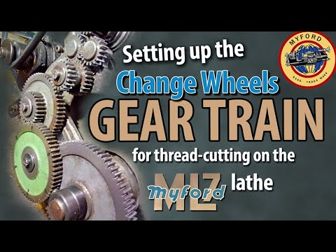 Myford Gear Train Setup