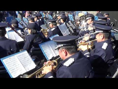 "Ayano Tsuji ""Kaze ni naru"" - Japanese Air Force Band"
