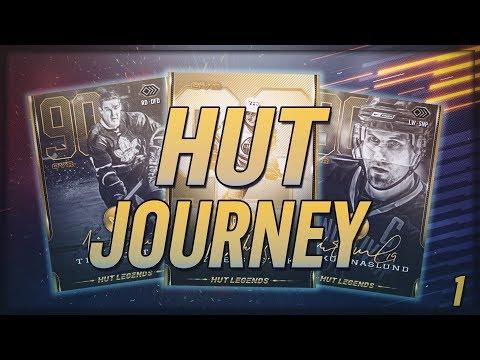 NHL 19 HUT JOURNEY BEGINS! Milestones, Loan Players, Packs,All Legends!