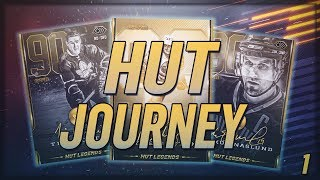 NHL 19 HUT JOURNEY BEGINS! Milestones, Loan Players, Packs,All Legends!