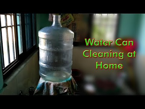 Water Can cleaning at Home - DIY