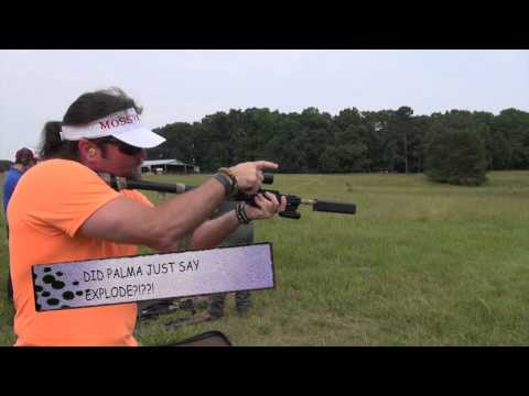 Shooting a Suppressed Kel Tec Sub 2000 with Peter Palma from Top Shot and MSCLEANKITS com