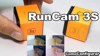 Cámara de Acción para Drones de Carreras - RunCam 3S Español