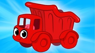 My Red Dump Truck Morphle - Animations For Kids
