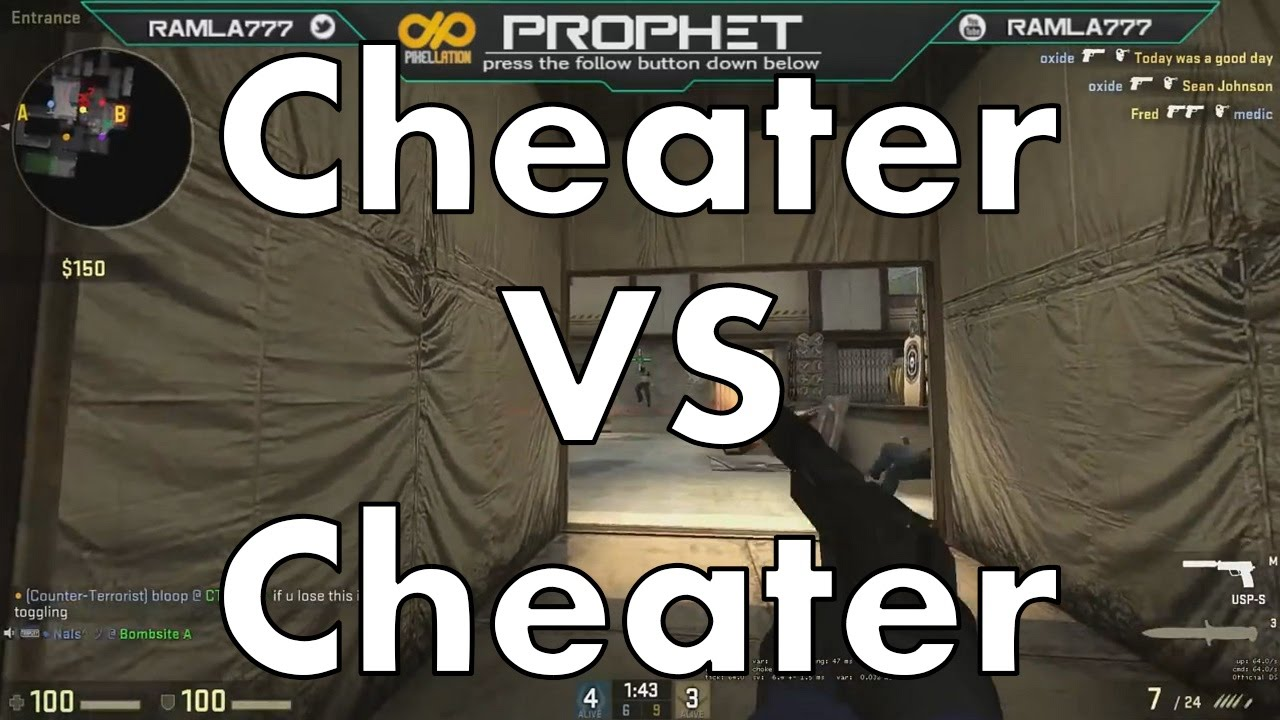 Cs go matchmaking cheaters