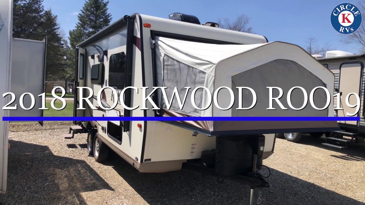 2018 ROCKWOOD ROO 19 - YouTube