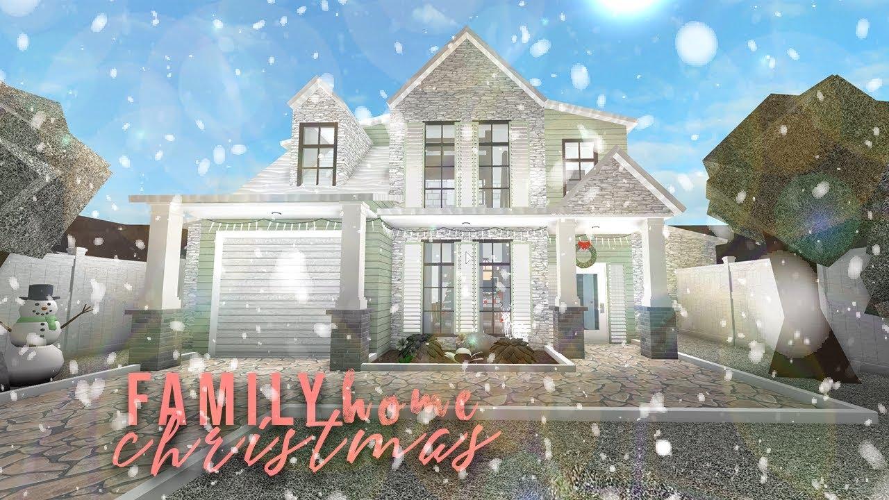 Bloxburg: Cheap Family Christmas Home