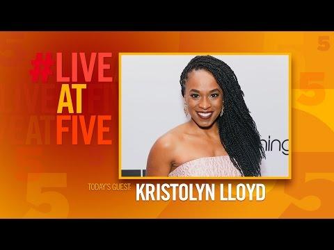 Broadway.com LiveatFive with Kristolyn Lloyd of DEAR EVAN HANSEN