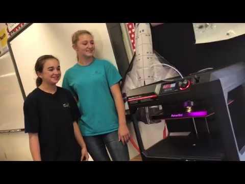 Paxton High School 7th/8th Grade 3D Printing