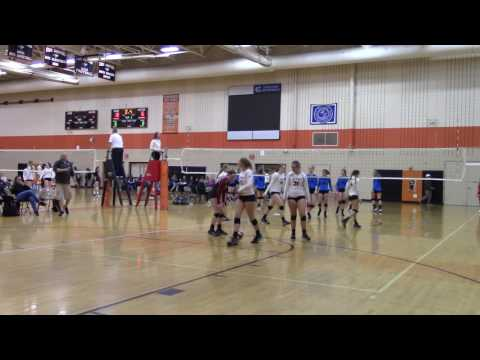 5/21/17 Molten Cup Silver Championship MN SELECT 13-1 vs M1 14-2 Set1 25-21(W)