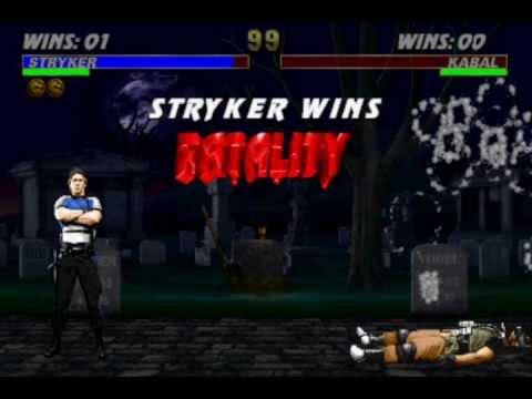 Mortal Kombat 3 (Arcade) - Fatalities Moves
